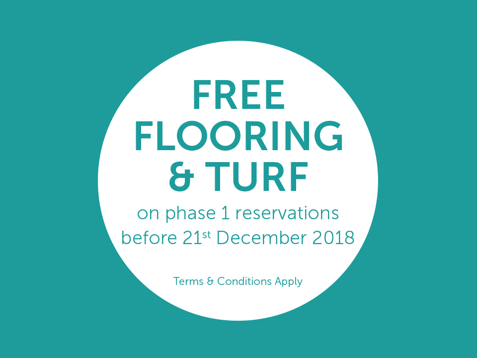 Free Flooring & Turf On Phase 1 Reservations
